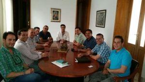 Caravana de salvación de la Federación de Peñas del Recreativo de Huelva.