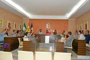 Pleno del ayuntamiento de Almonte-junio 2016
