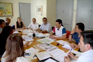 Reunión coordinación del programa '7 desafíos'