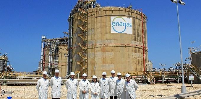 Visita Enagas1Puerto Huelva