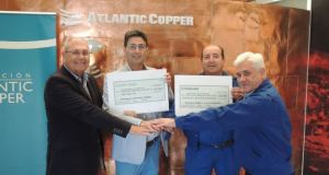 Atlantic Copper con el Recreativo de Huelva.