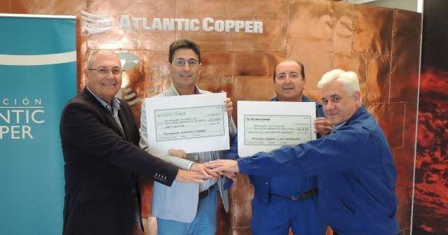 Atlantic Copper con el Recreativo de Huelva.