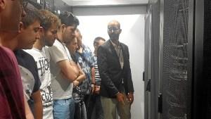 centro de proceso de datos del Complejo Hospitalario