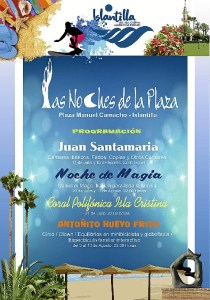 Cartel 'Las Noches de la Plaza'