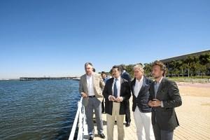 Visita al Paseo de la Ria Puerto Huelva1julio16I