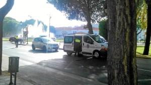 accidente rontoda los bomberos en Huelva (1)