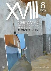 cartel certamen pintura cortelazor 2016
