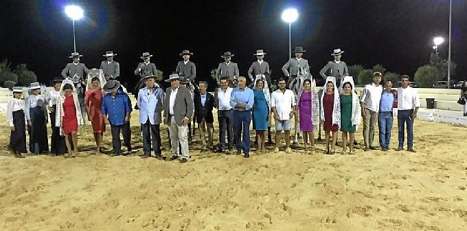 Concurso de Doma Vaquera celebrado en la localidad.