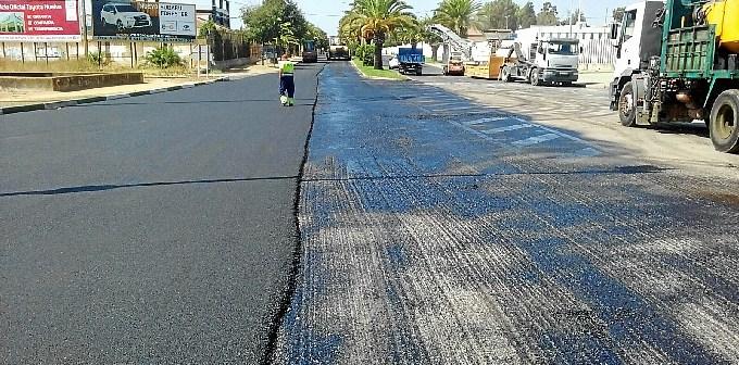 Plan asfaltado Huelva