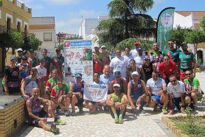 Proyecto 'Andalucía 7 Desafíos' a su paso por Aljaraque.