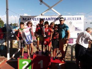 Escuela de vela del CND de Punta Umbría.