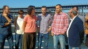 Antonio Mayllo y Diputados en Huelva