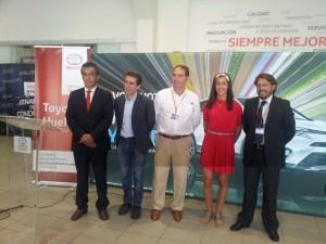 Juan Manuel Gutierrez, Francisco Fernandez, Carolina Marin, Ramon Nimo y Antonio Ramos.
