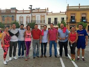 Visita Semana Juventud Rociana