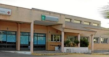 Fachada del centro de salud de Nerva.