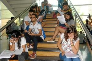 estudiantes selectividad
