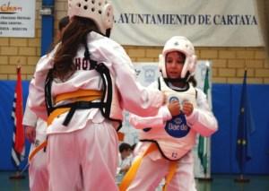 Taekwondo en Cartaya.