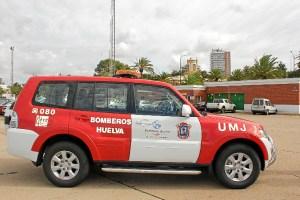 Coche Mitsubishi Bomberos Puerto Huelva3