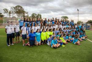 Categorías inferiores del Cajasol Sporting de Huelva.