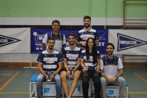 Jugadores del Recreativo IES La Orden en el Master Absoluto de Huelva.