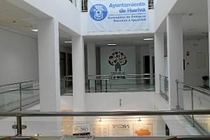 Interior de la Casa de la Juventud de Huelva capital.
