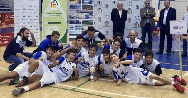 Huelva, campeona cadete masculina de Andalucía.