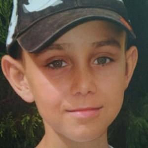 José Antonio Garrido, joven olontense.