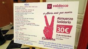 Almuerzo solidario Valdocco 1