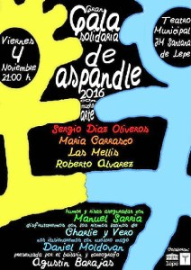 Cartel Gala Solidaria Sapandle