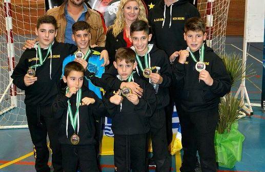 Torneo de Kickboxing en Isla Cristina.