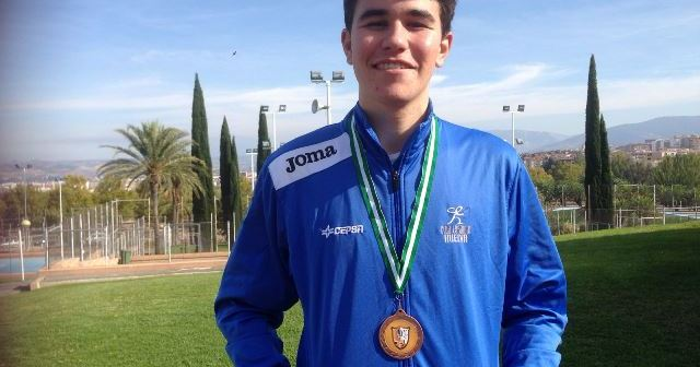 Javier García, del Club Esgrima de Huelva.