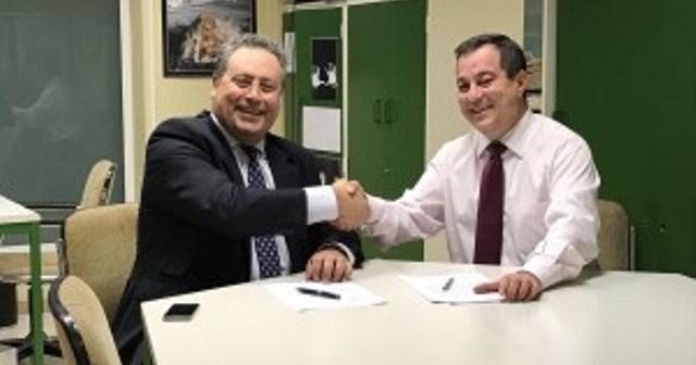 Convenio del CDB Enrique Benítez con la Asociación Nuevo Horizonte.