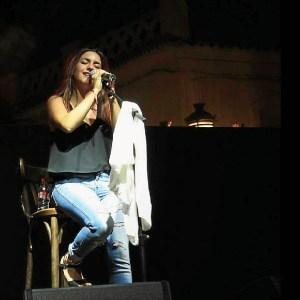 Marta Soto en concierto.