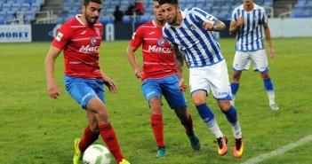 Antonio Domínguez tuvo varias ocasiones de gol.