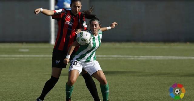 Sandra García, central del Cajasol Sporting.