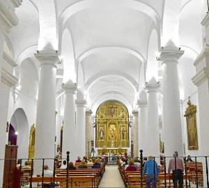 Luces led para iluminar la iglesia de la asunci n en zalamea - Enrique iluminacion ...