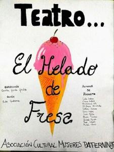 teatro el helado de fresa