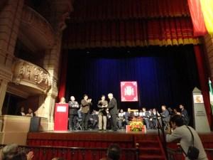 Distinción de la Subdelegación del Gobierno para el Club Marítimo de Huelva.