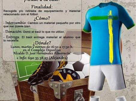 Iniciativa 'El Baúl de la Escuela' de Punta Umbría.