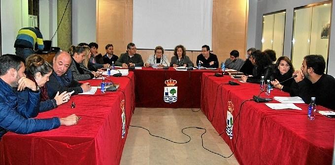 Imagen de archivo de un pleno en Isla Cristina este mandato.