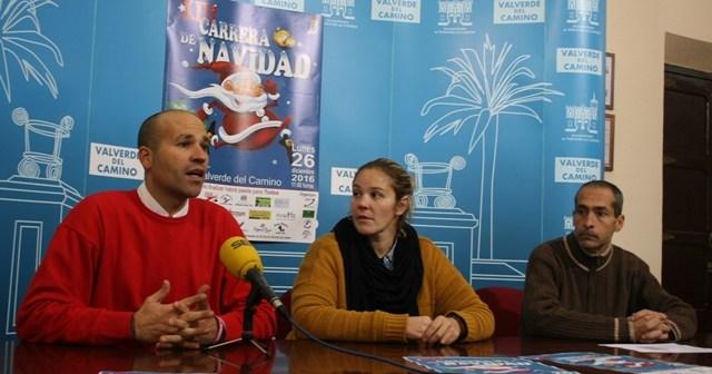 Presentación de la Carrera de Navidad en Valverde del Camino.