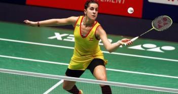 Carolina Marín, bicampeona del mundo y olímpica de bádminton.