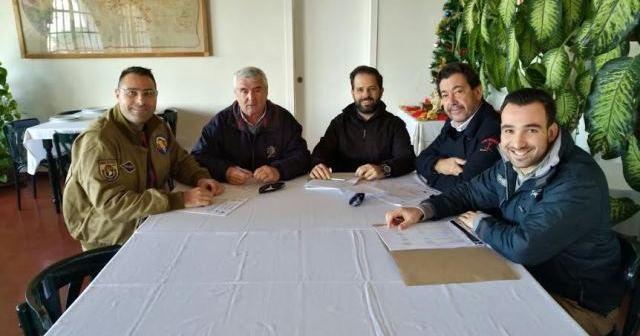 Reunión para la regata 'Bahía de Huelva'