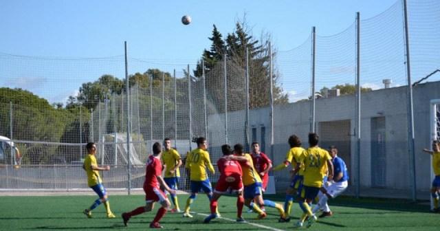 Imagen de archivo del partido entre Cartaya y la Olímpica Valverdeña.