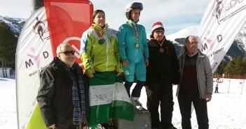 Marina Rodríguez, esquiadora sanjuanera.