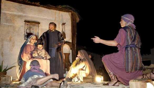 Cabalgata Reyes Magos en Higuera de la Sierra