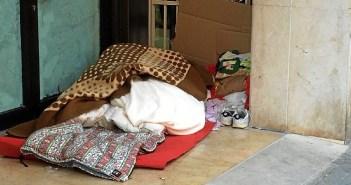 Personas sin hogar