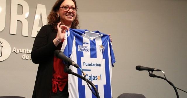 Manuela Romero, presidenta del Cajasol Sporting.