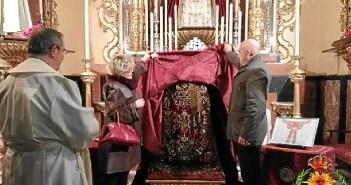 Nueva saya para la Virgen de la Victoria (1)