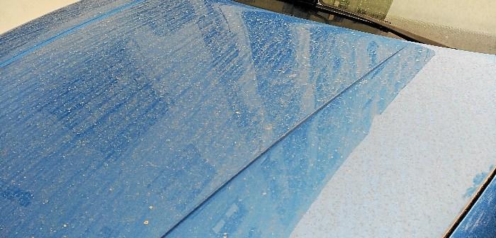 lluvia de barro Huelva